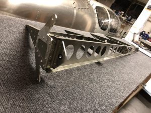 Completed the riveting of the structure of the Rudder