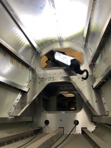 Inside the Tailcone looking aft