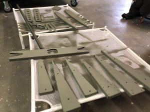 Primed Elevator parts