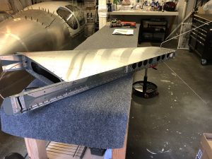 Completed Vertical Stabilizer