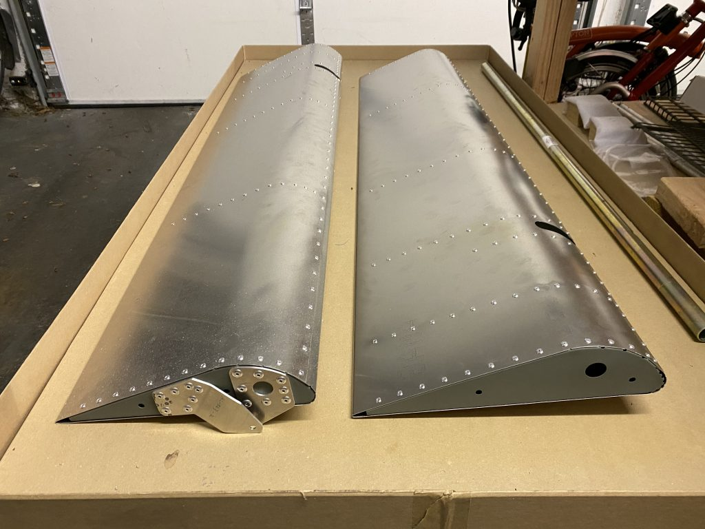 Both Ailerons completed
